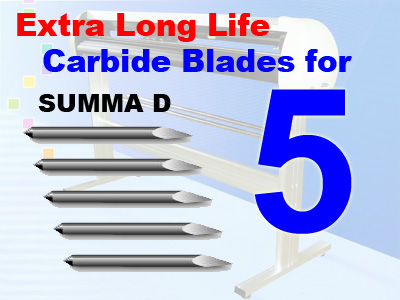 5 Packs SUMMA D Compatible Blades, Qty Dis (free shipping)
