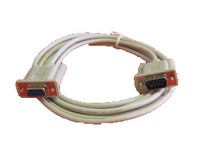 7' Serial Cable 9-pin M-F Straight