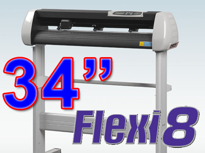 "SK870T 34"" VINYL CUTTER with Flexi 8.5 MAC (free shipping)"